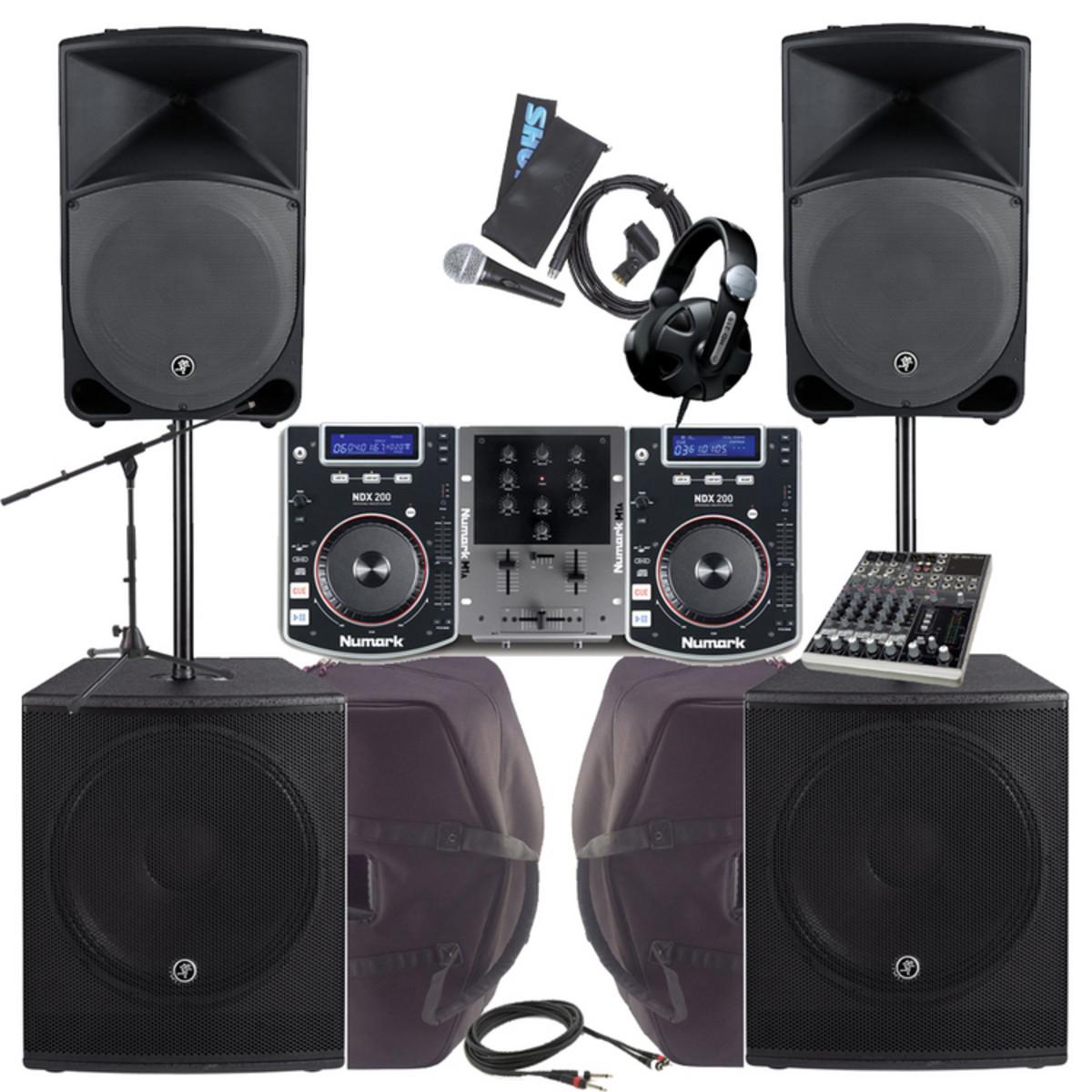 2000w Complete Dj Pa System Bundle At Gear4music Com