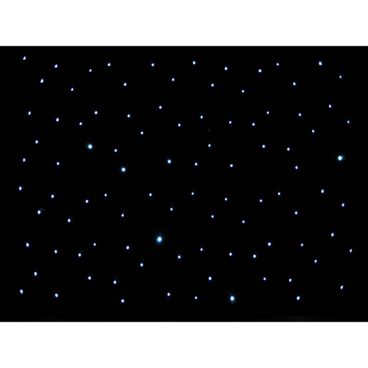 Ledj 3 X 2m Led Starcloth System Black Cloth Cw At