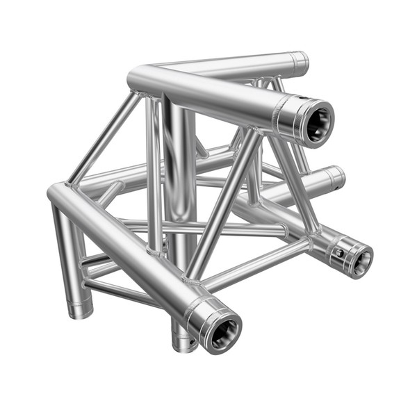 Global Truss 4094-31PL F33 PL 3 Way 90 Degree Corner Apex Up, R/H