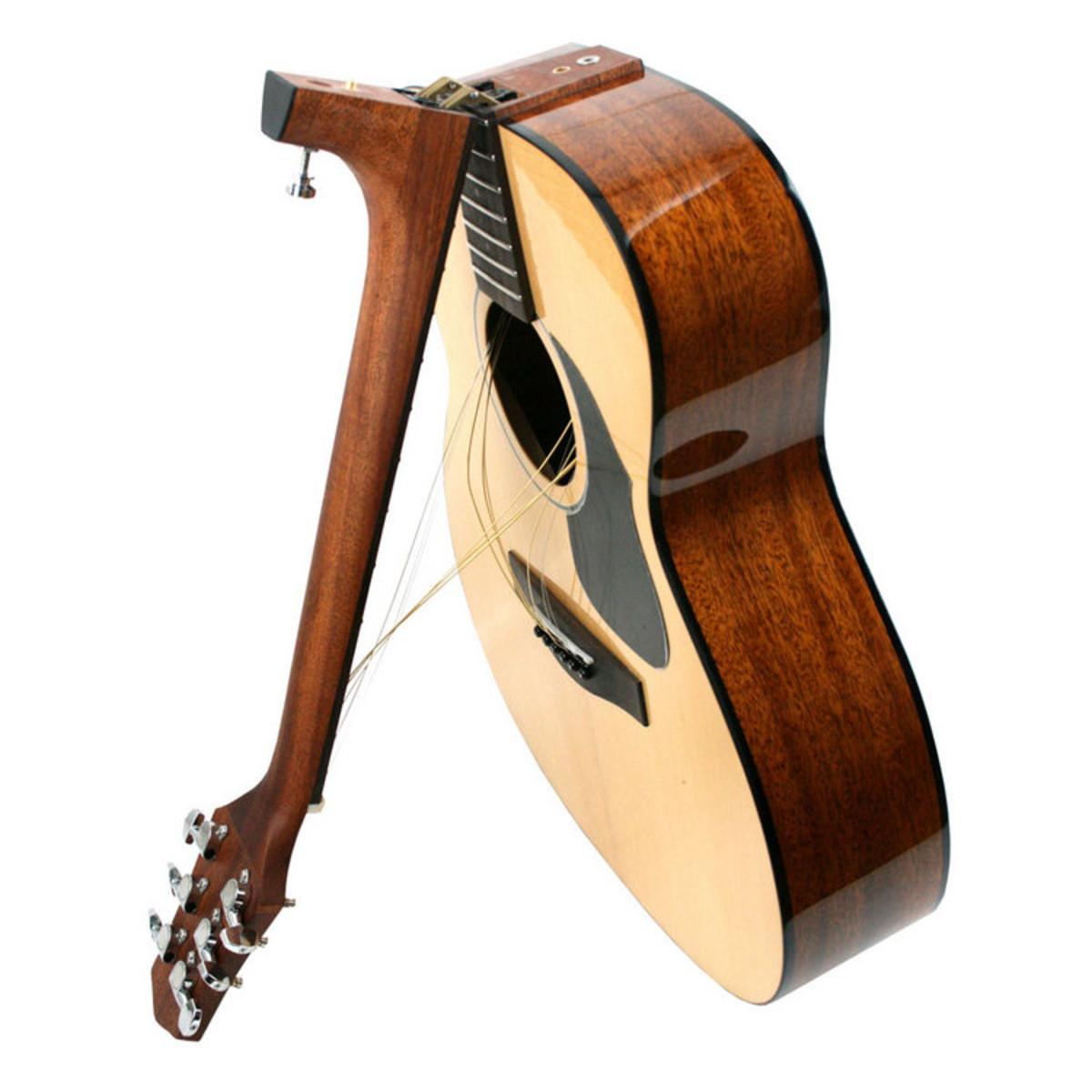 voyage air vaom 02 folding acoustic travel guitar at gear4music. Black Bedroom Furniture Sets. Home Design Ideas