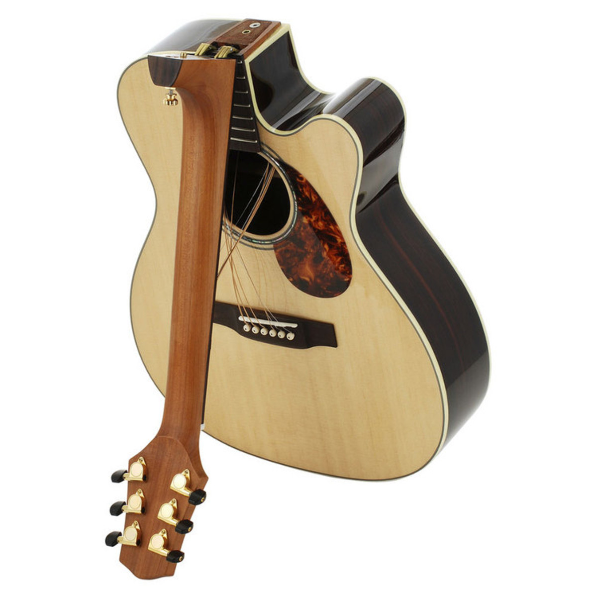 Voyage Air Vaom 2c Folding Acoustic Travel Guitar At