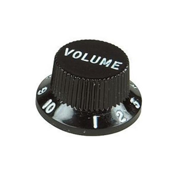 Guitarworks Guitar Volume Control Knob, Black