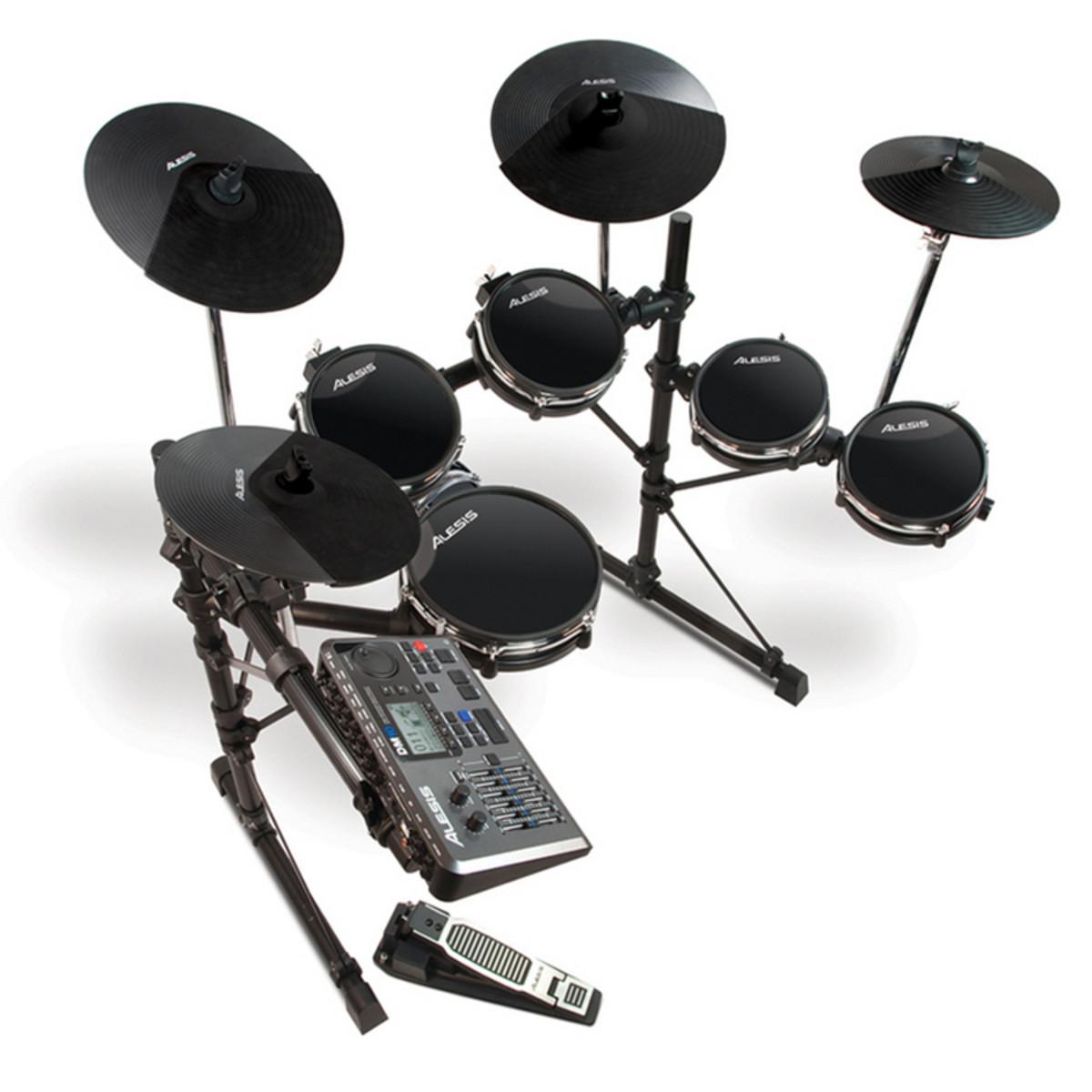 alesis dm10 studio 6 piece electronic drum kit used at gear4music. Black Bedroom Furniture Sets. Home Design Ideas