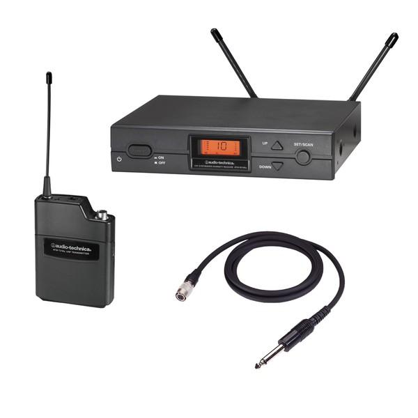 Audio Technica ATW-2110 F Band UniPak Guitar Wireless System