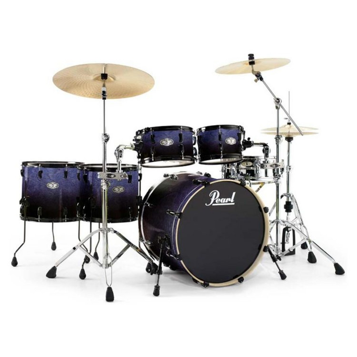 disc pearl vision vbx hyperdrive birch kit in concord fade limited edition at gear4music. Black Bedroom Furniture Sets. Home Design Ideas