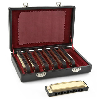 Blues Golden Harmonica