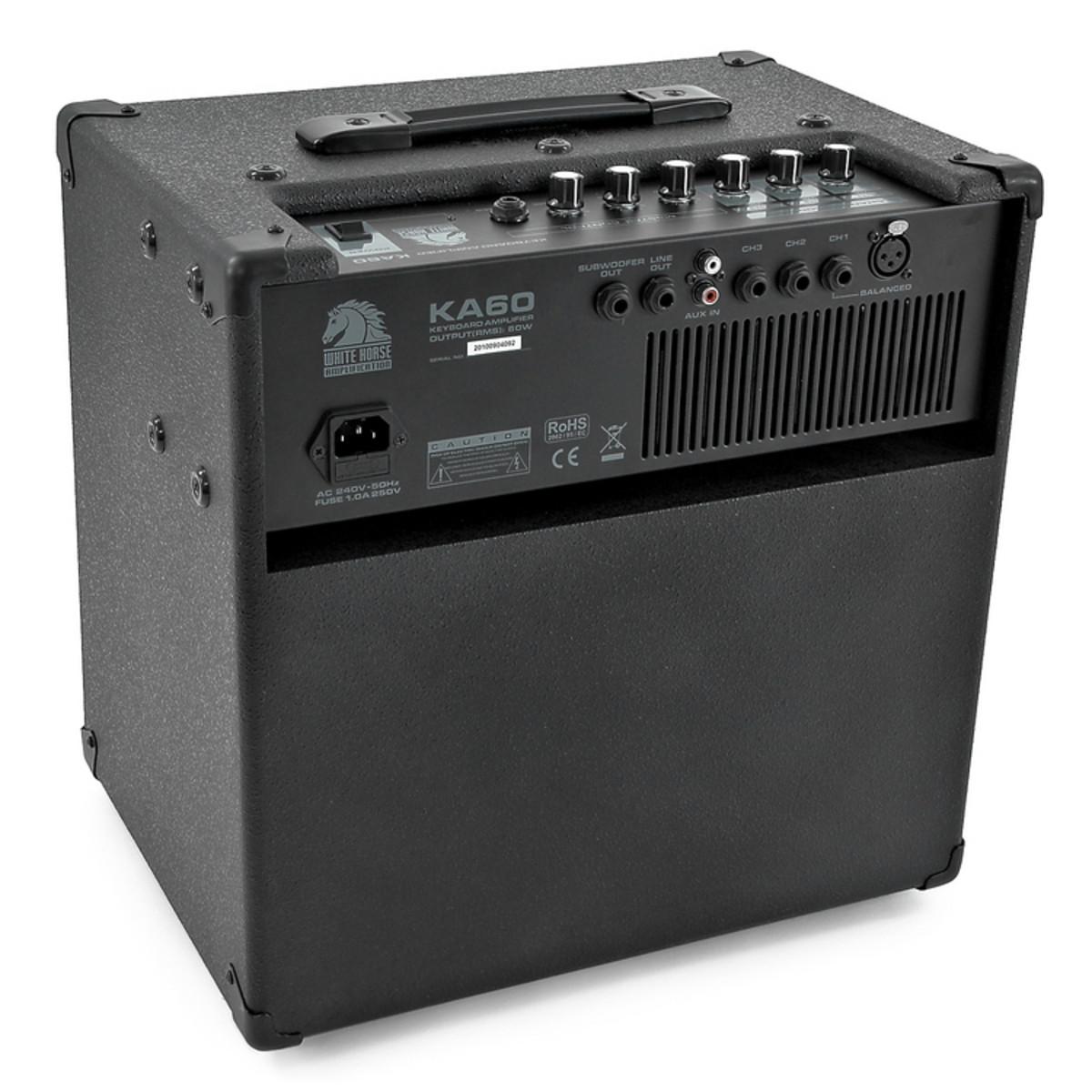 white horse ka 60 keyboard amp at gear4music. Black Bedroom Furniture Sets. Home Design Ideas