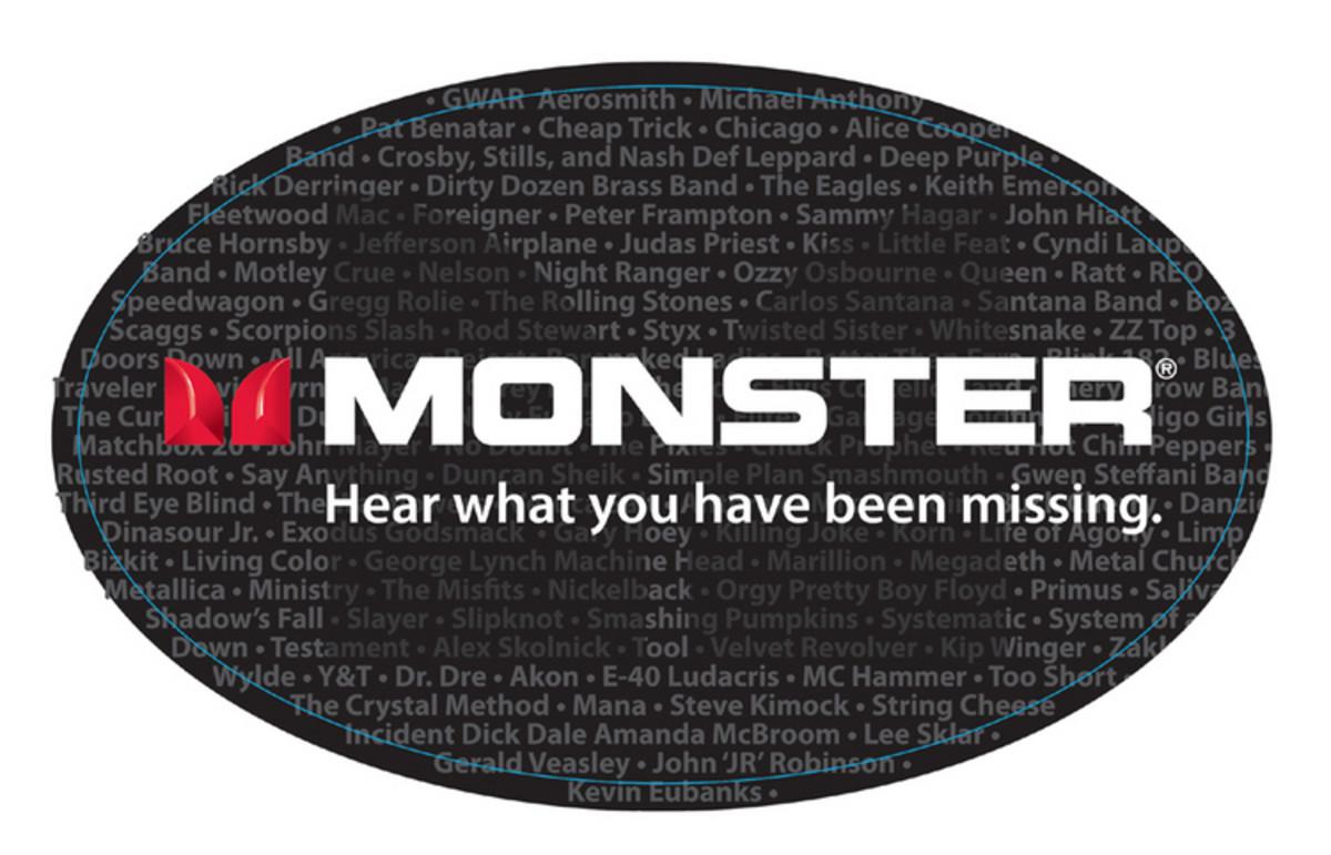 Monster Bass Instrumentenkabel, 9,1 m (30 ft) bei Gear4music