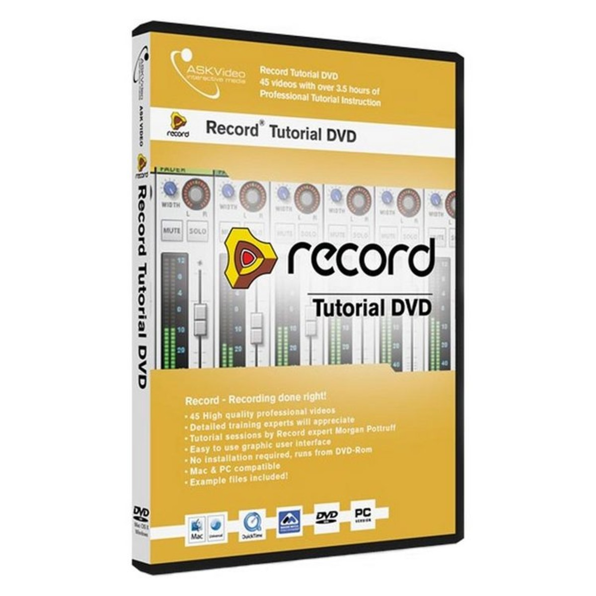 Askvideo Record 15 Tutorial Dvd