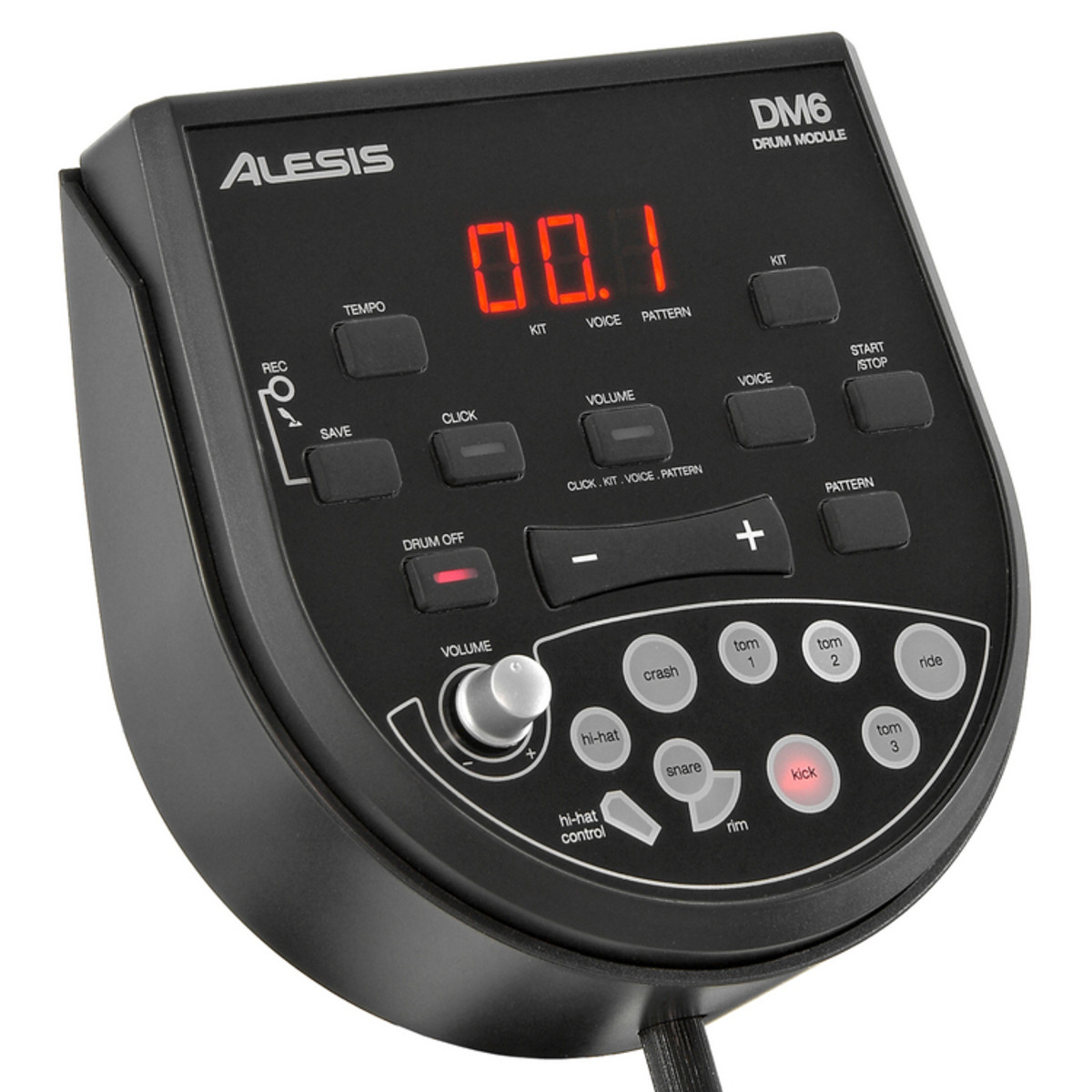 Alesis DM6 USB Express Electronic Drum Kit, Christmas Amp Pack