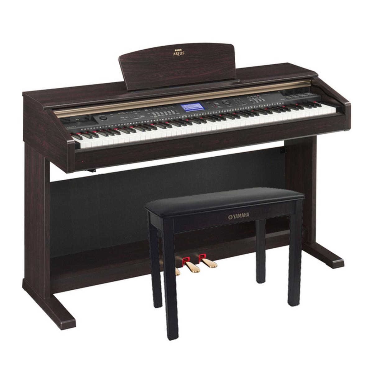 disc yamaha arius ydp v240 digital piano dark rosewood bench at gear4music. Black Bedroom Furniture Sets. Home Design Ideas
