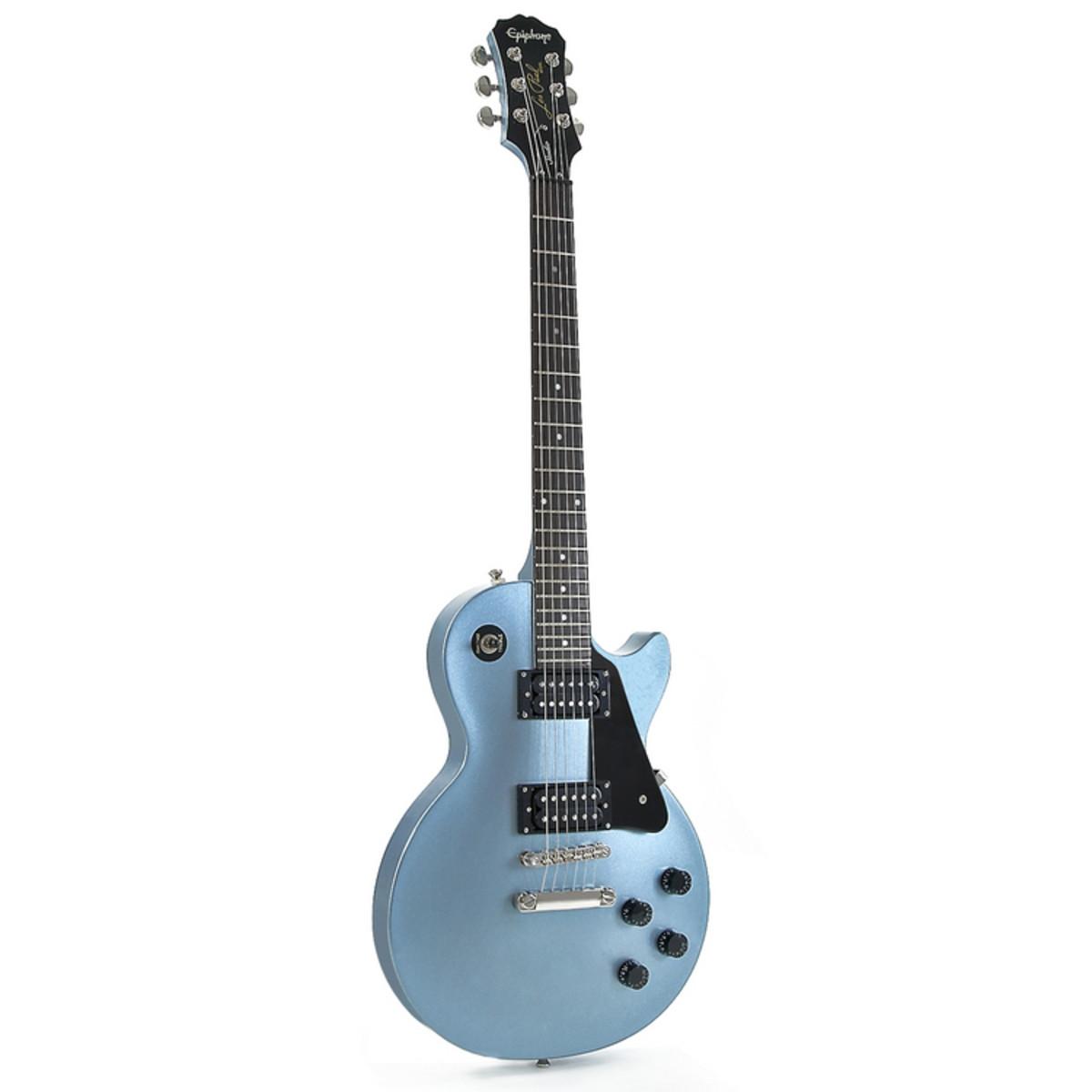 Disc Epiphone Les Paul Studio Special Edition Pelham Blue At Gear4music
