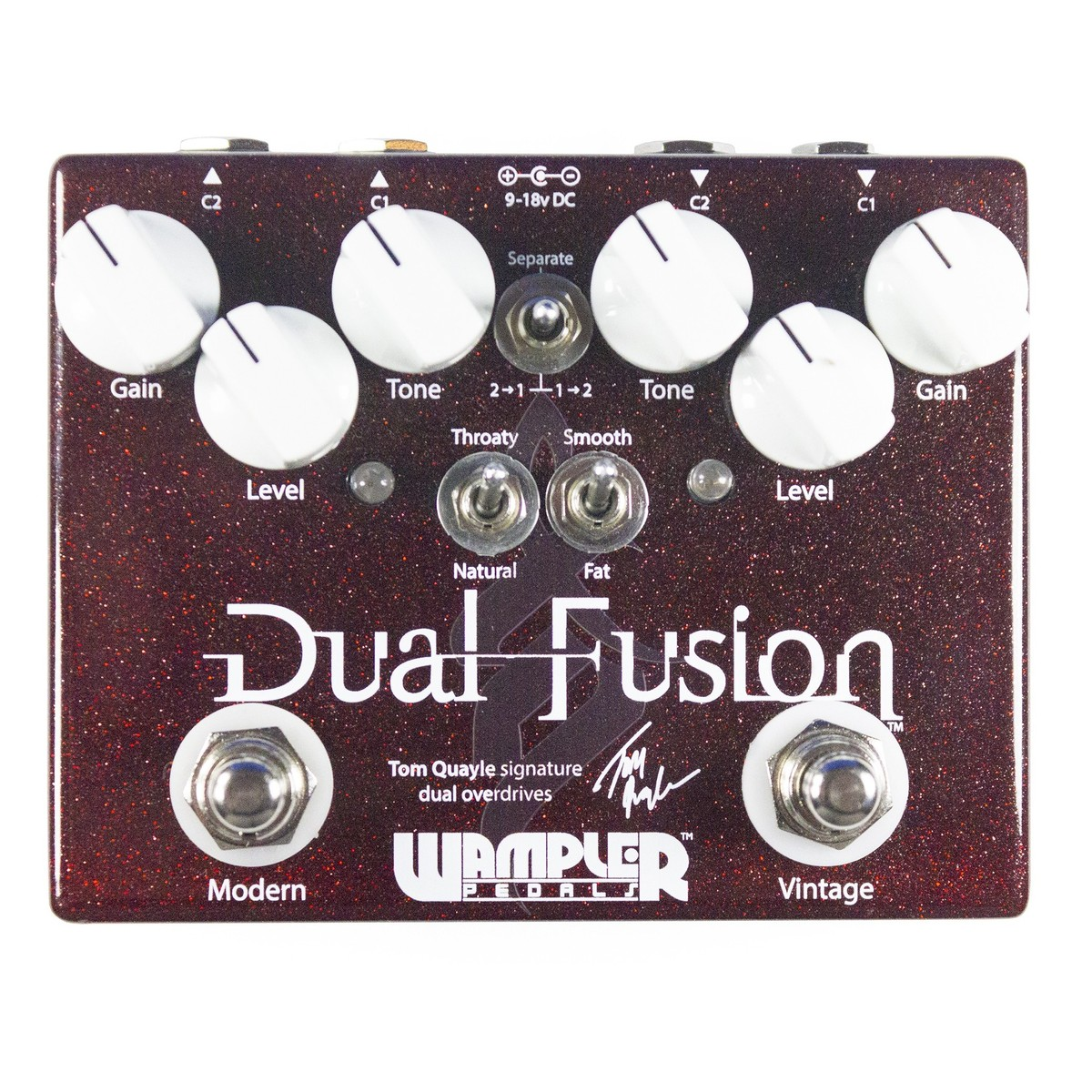 wampler dual fusion drive pedal at gear4music. Black Bedroom Furniture Sets. Home Design Ideas
