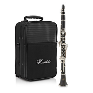 Rosedale Intermediate C Clarinet by Gear4music