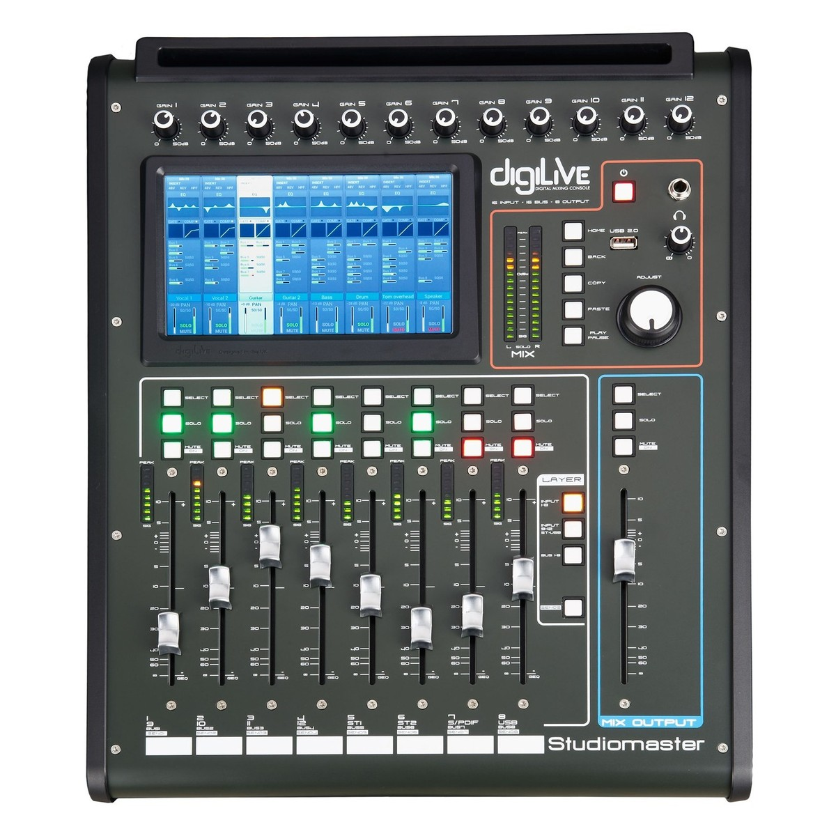 studiomaster digilive digital mixer at gear4music. Black Bedroom Furniture Sets. Home Design Ideas