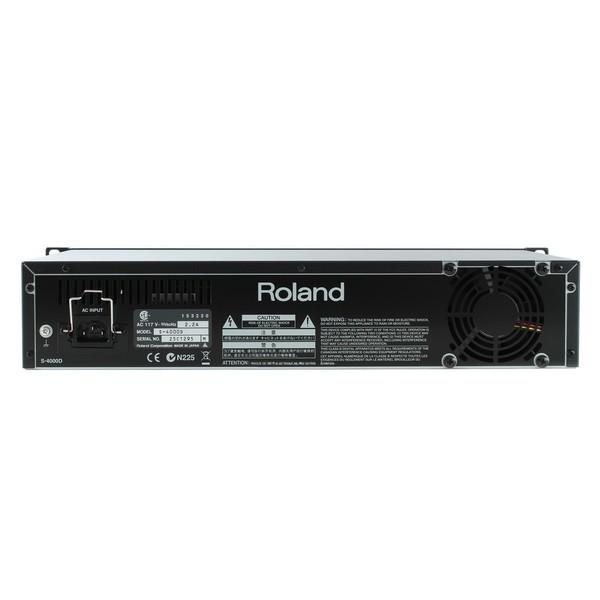 Roland S4000D Back
