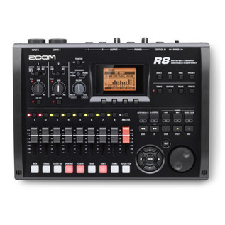 Zoom R8 Recorder, Interface, Controller, Sampler System (Top)
