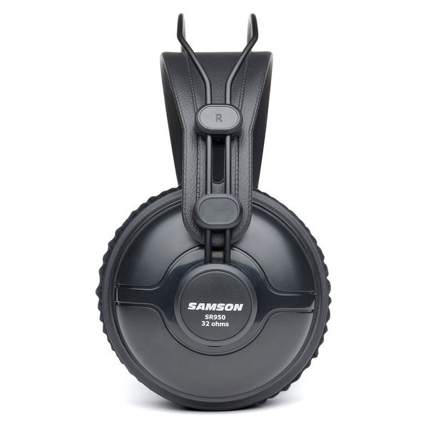 Samson SR950 Studio Reference Headphones - Side View