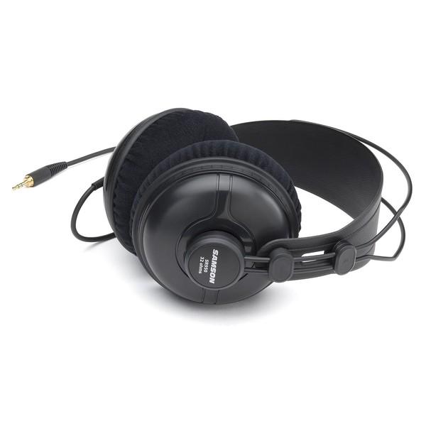 Samson SR950 Studio Reference Headphones - Flat