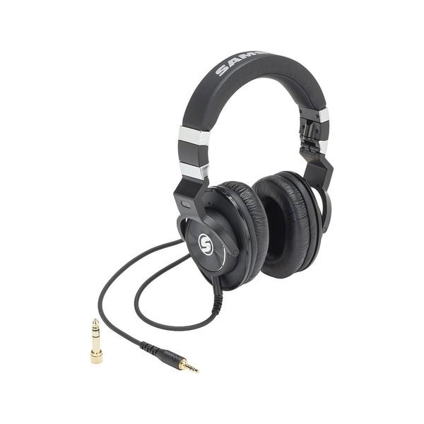 Samson Z45 Studio Headphones, Front Angled Right