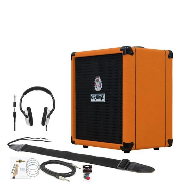 Orange Crush Bass 25 Practice Pack