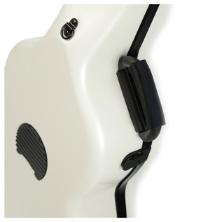 BAM 8002XL Hightech Classical Guitar Case, White