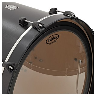 SJC Drums Tour Series 3 Piece Shell, Black HW