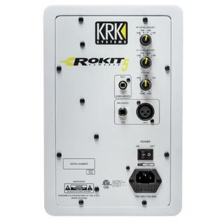 KRK Rokit RP5 G3 Active Monitor (White), Single