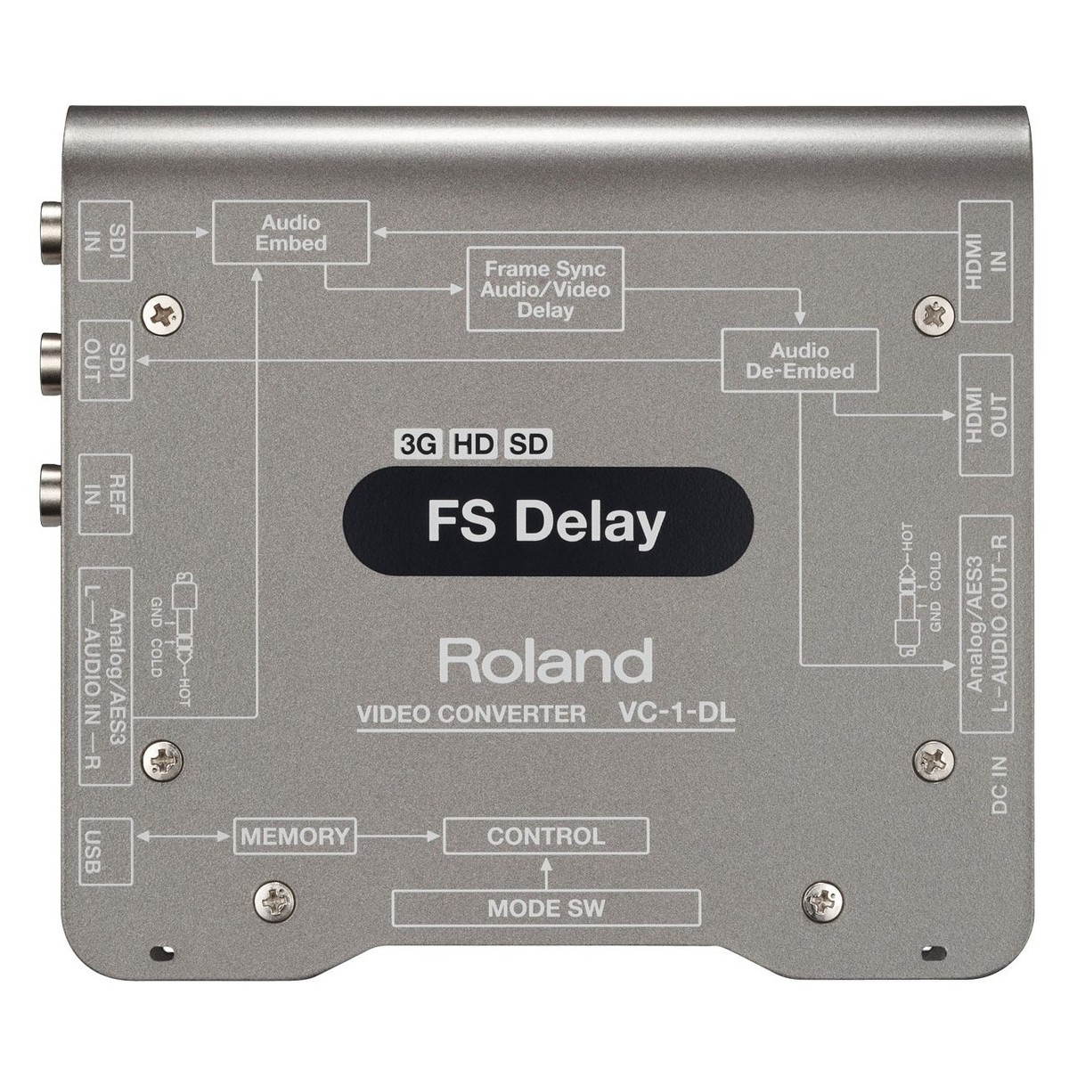 Roland VC1DL Bi-directional SDI/HDMI with Delay and Frame Sync at ...