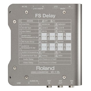 Roland VC1DL Back