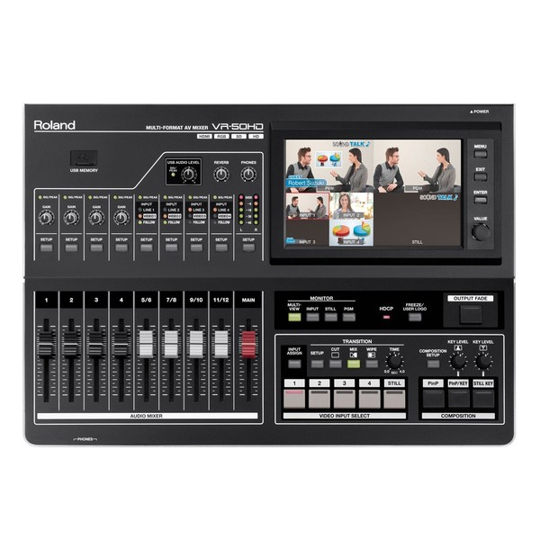 Roland VR50HD Top