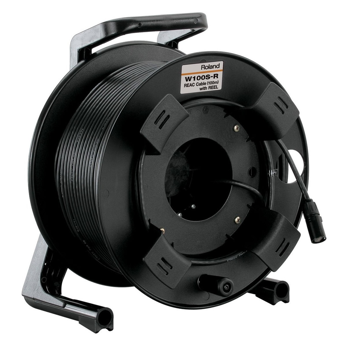 Roland W100sr Ethercon Cable And Reel 100m At Gear4music