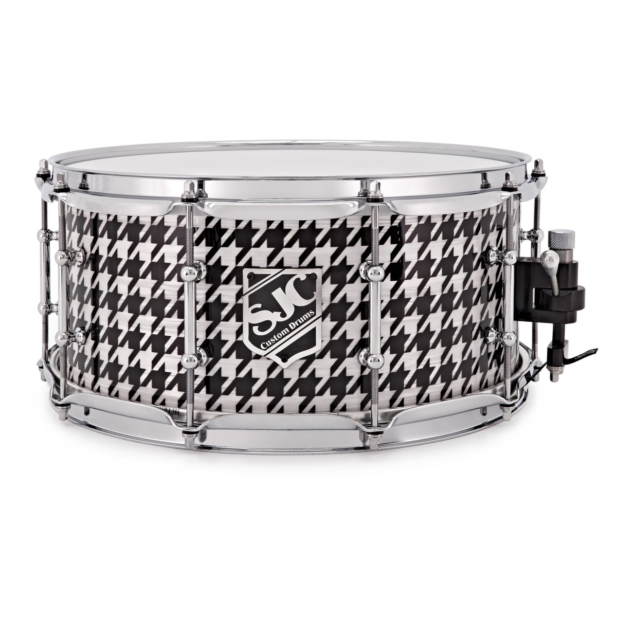 SJC Drums Tré Cool Signature 14 x 6.5 Snare Drum, Houndstooth at ...