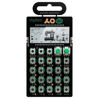 Teenage Engineering PO-12 Rhythm Pocket Rhythm Synthesizer - Front