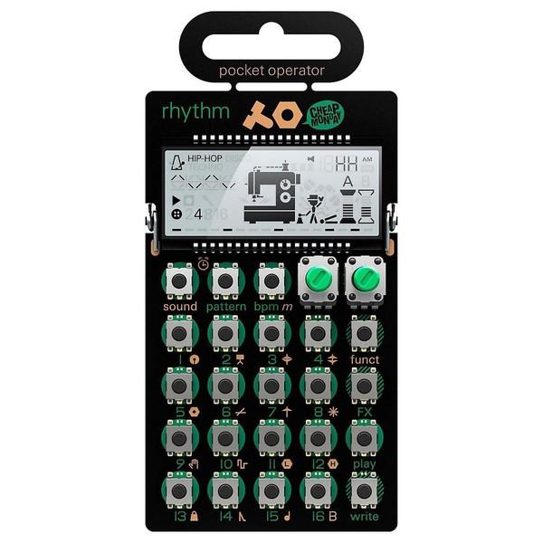 Teenage Engineering PO-12 Rhythm Pocket Rhythm Synthesizer - Front