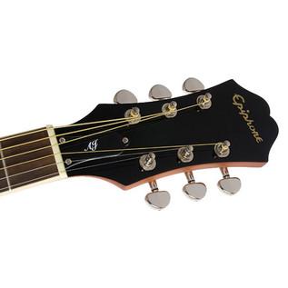 Epiphone AJ-220SCE Electro-Acoustic Guitar, Ebony Headstock