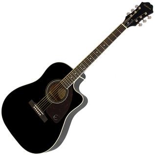 Epiphone AJ-220SCE Electro-Acoustic Guitar, Ebony