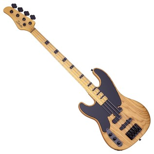Schecter Model-T Session Left Handed Bass Guitar,Aged Natural Satin