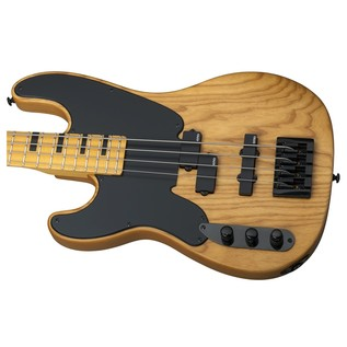 Schecter Model-T Session Left Handed Bass Guitar, Natural
