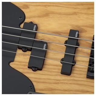 Schecter Model-T Session Left Handed Bass Guitar