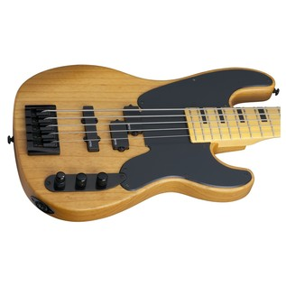 Schecter Model-T Session-5 Bass Guitar, Natural