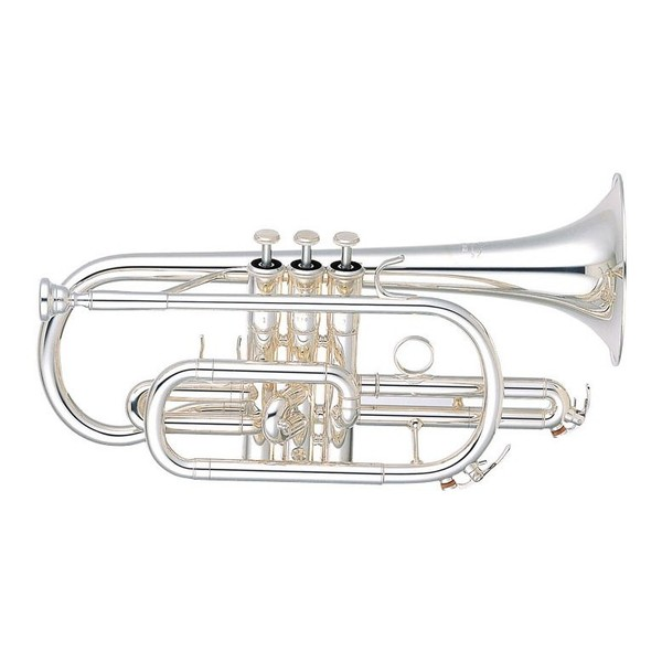 Yamaha YCR-6330 Professional Cornet with Silver Plated Finish