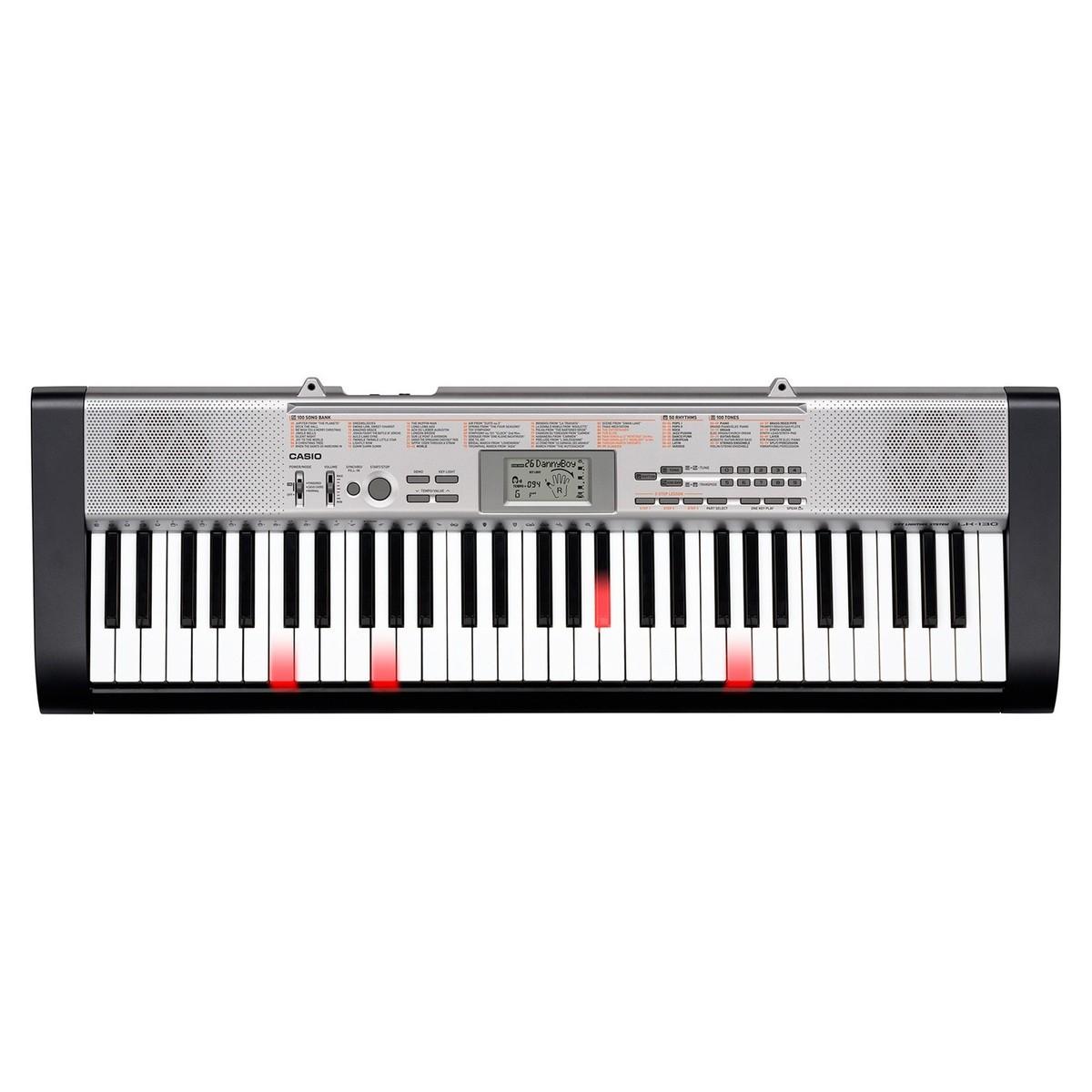 disc casio lk 130 keylighting keyboard at gear4music. Black Bedroom Furniture Sets. Home Design Ideas