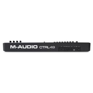 M-Audio CTRL-49 MIDI Controller - Rear