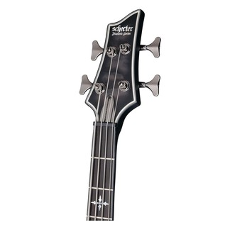 Hellraiser Extreme-4 Bass Guitar, See-Thru Black