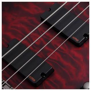 Schecter Hellraiser Extreme-4 Bass Guitar,Crimson Burst