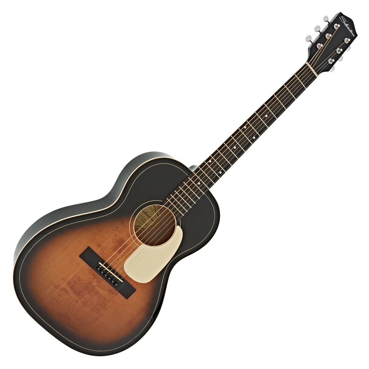 Silvertone 604 Acoustic Guitar, American Vintage Sunburst ...