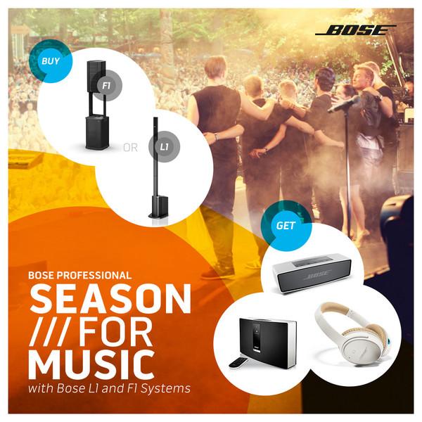 Bose Season for Music