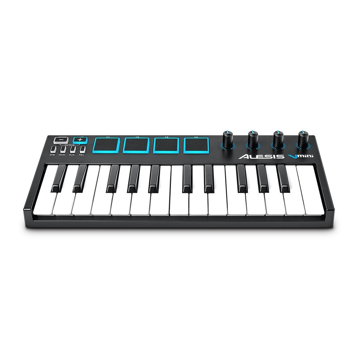 alesis v mini 25 key midi keyboard controller at gear4music. Black Bedroom Furniture Sets. Home Design Ideas