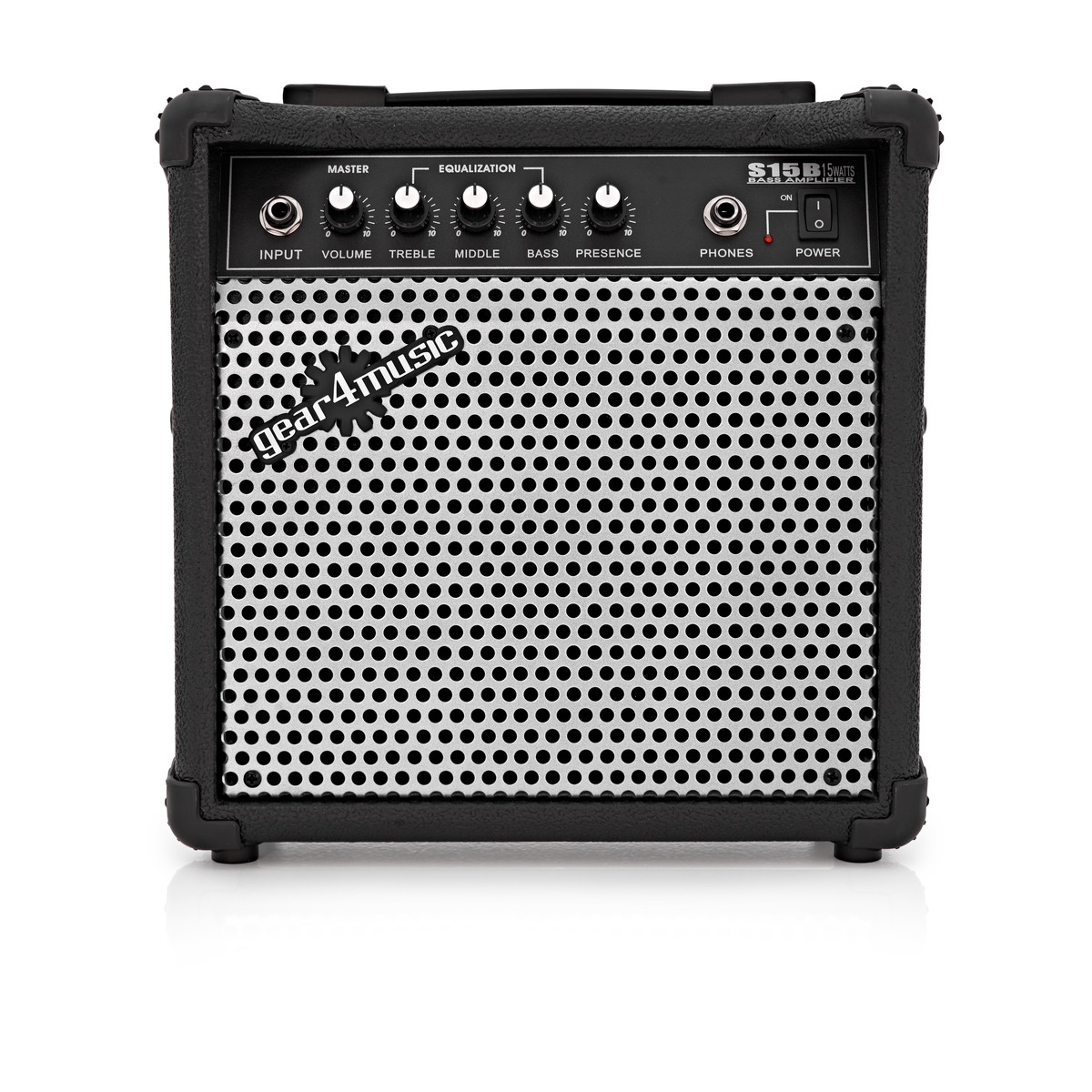 15W Electric Bass Amp by Gear4music - B-Stock